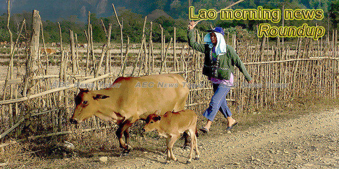 Lao morning news for June 27