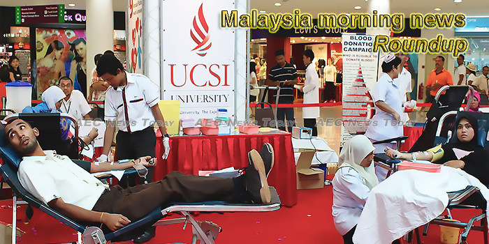 Malaysia morning news for June 10