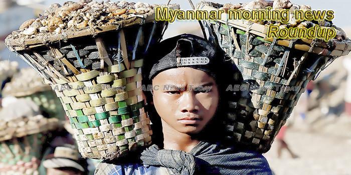 Myanmar morning news for June 13
