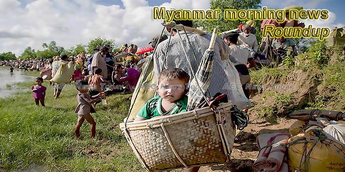 Myanmar morning news for June 19