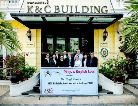 Lao PDR K&C Group plans to introduce Pingu's English-language teaching method nationwide
