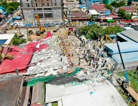 28 people were killed and 26 injured in Cambodia's worst construction accident over the weekend