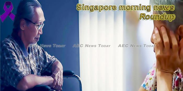 Singapore morning news for June 14