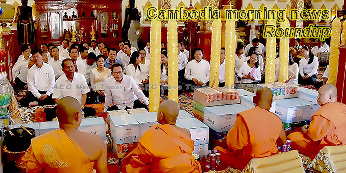 Cambodia morning news for July 18