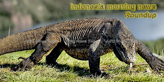 Indonesia morning news for July 12