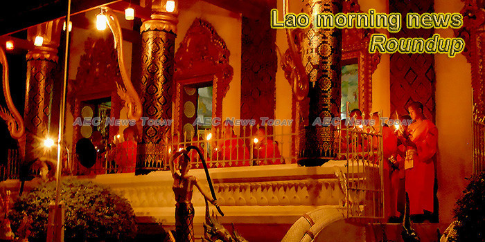 Lao morning news for July 19