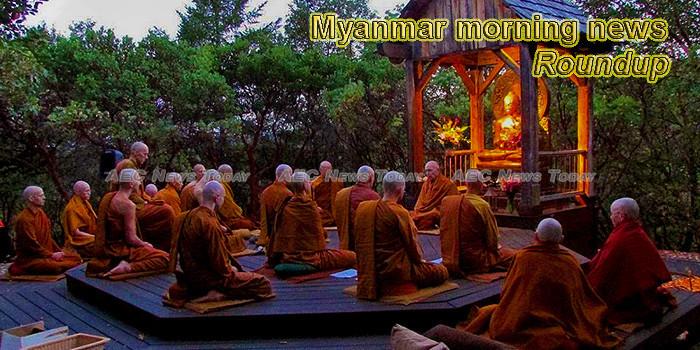 Myanmar morning news for July 18