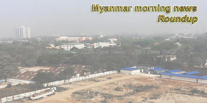 Myanmar morning news for July 22
