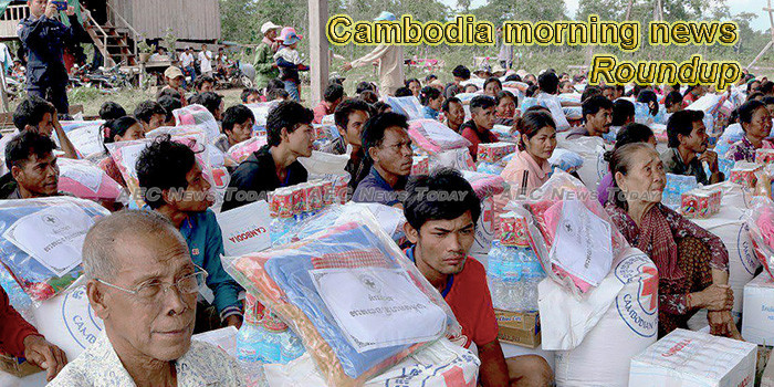 Cambodia morning news for August 20