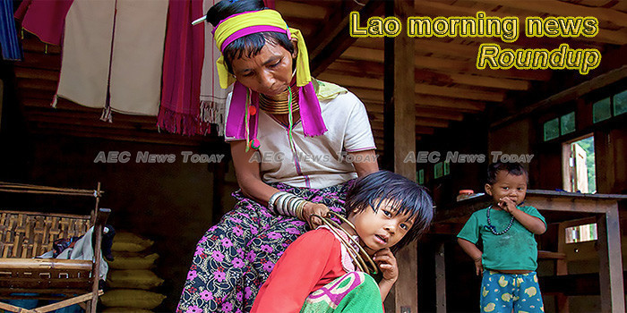 Lao morning news for August 7