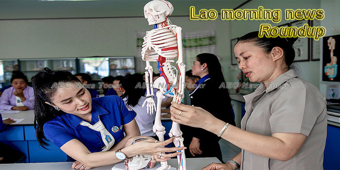Lao morning news for August 16