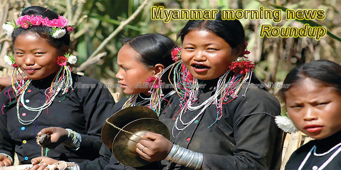 Myanmar morning news for August 6