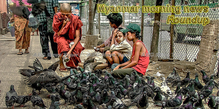 Myanmar morning news for August 14