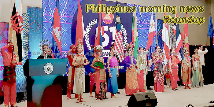 Philippines morning news for August 6