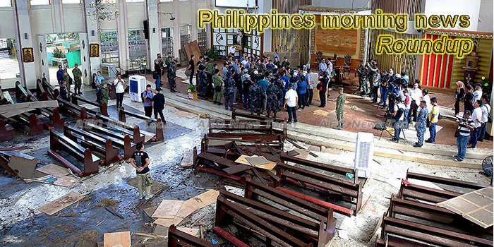 Philippines morning news for August 22