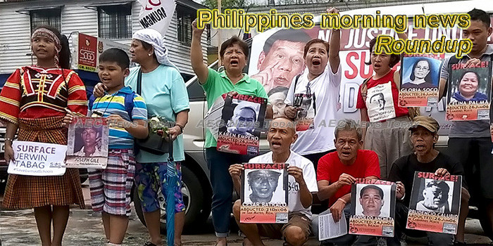 Philippines morning news for August 27
