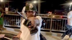 Slap down for media freedom on the streets of Phnom Penh (video)