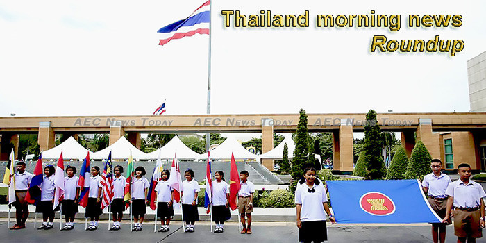 Thailand morning news for August 8