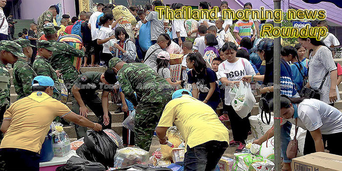 Thailand morning news for August 21
