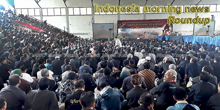 Indonesia morning news for September 11