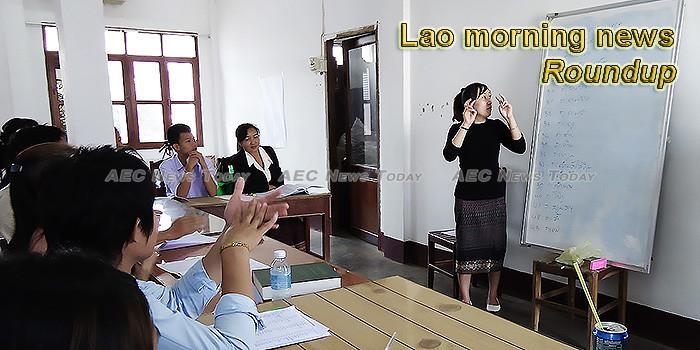 Lao morning news for September 24
