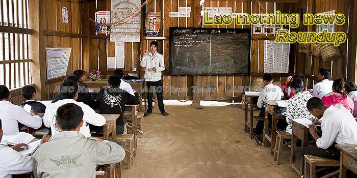 Lao morning news for September 30