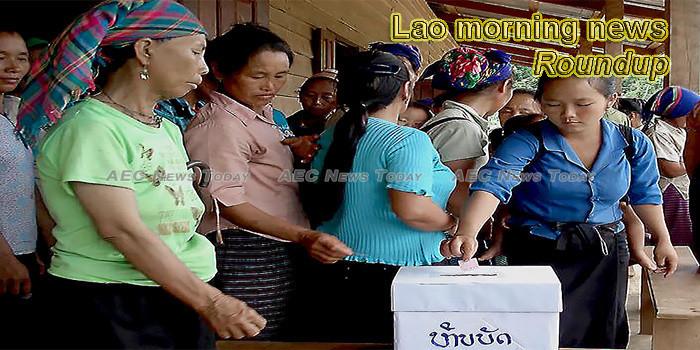 Lao morning news for September 11