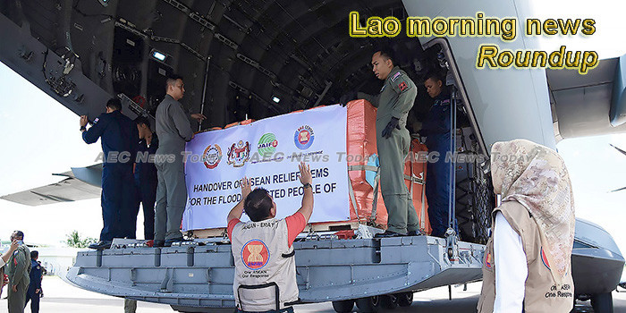 Lao morning news for September 20