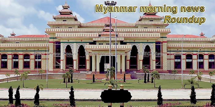 Myanmar morning news for September 16