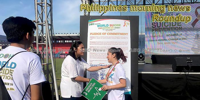 Philippines morning news for September 12