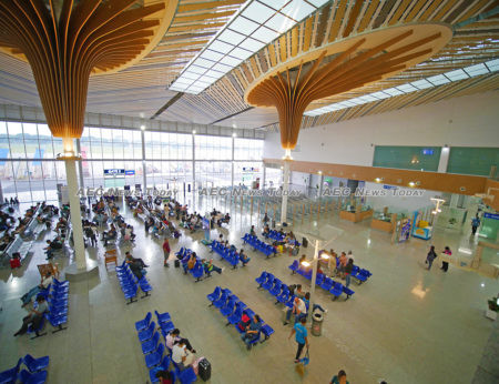 Puerto Princesa's spanky new International Airport is open for business
