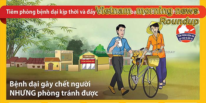 Vietnam morning news for September 27