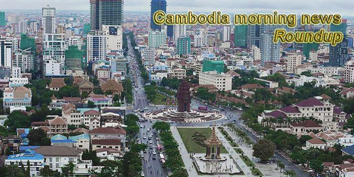Cambodia morning news for October 31