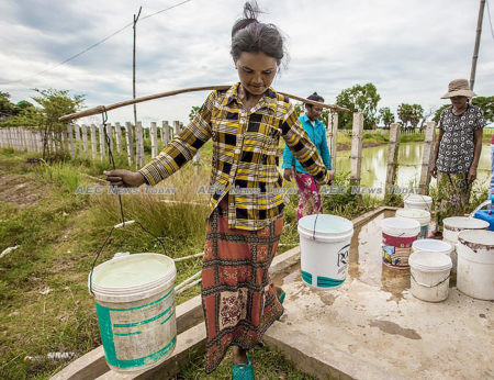 More than 400,000 people will benefit from the Third Rural Water Supply and Sanitation Services Sector Development Program (RWSSS-SDP)