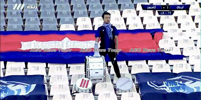 Salute to Cambodia's most dedicated football fan (video)