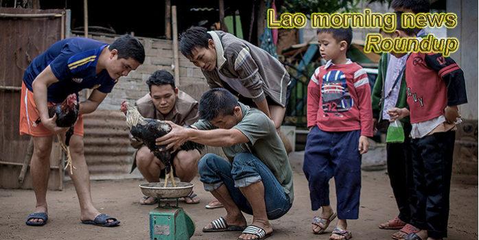 Lao morning news for November 1