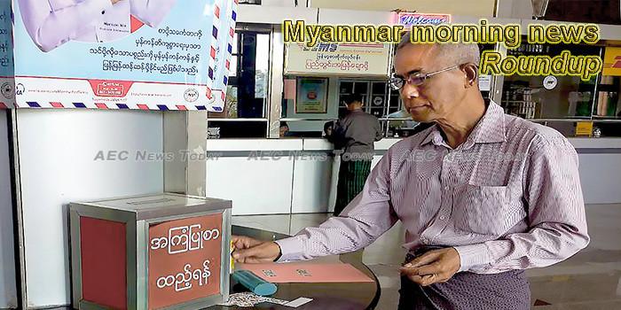 Myanmar morning news for October 9