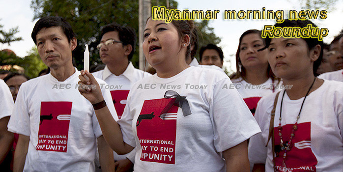 Myanmar morning news for October 29