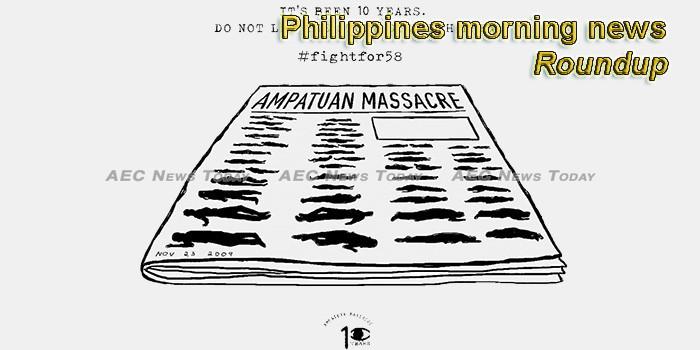 Philippines morning news for November 1