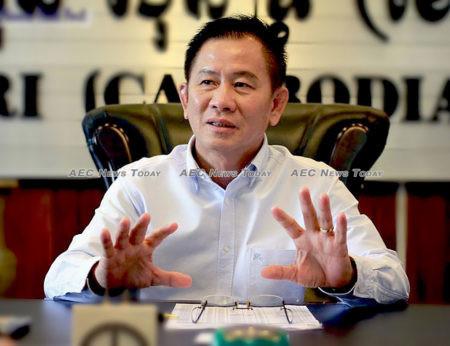 Seng Savy, president of Cintri