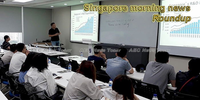 Singapore morning news for October 14