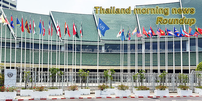 Thailand morning news for October 25