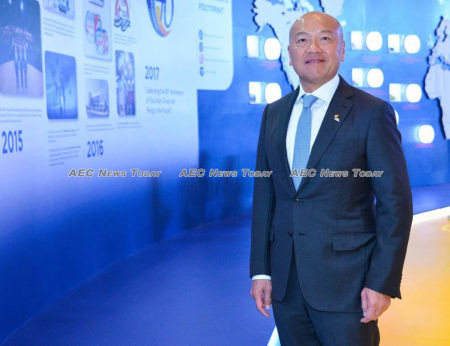 Thiraphong Chansiri, CEO, Thai Union Group: we aim to be the world's most trusted seafood leader