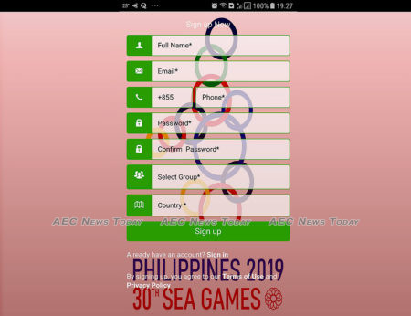 The 2019 SEA Games mobile app requires invasive personal information to use