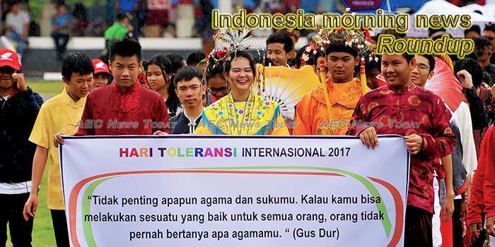Indonesia morning news for November 12