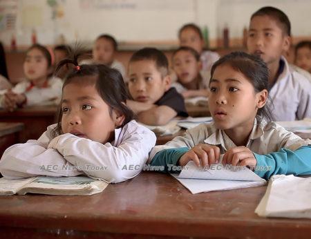 Lao country school children   Asean News Today