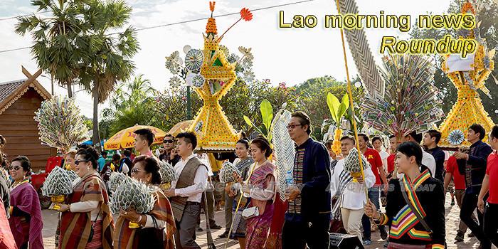 Lao morning news for November 11