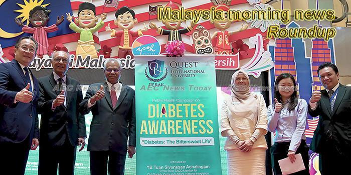 Malaysia morning news for November 12