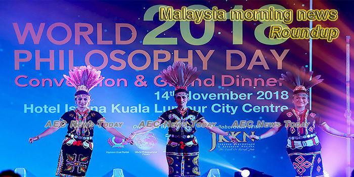 Malaysia morning news for November 18