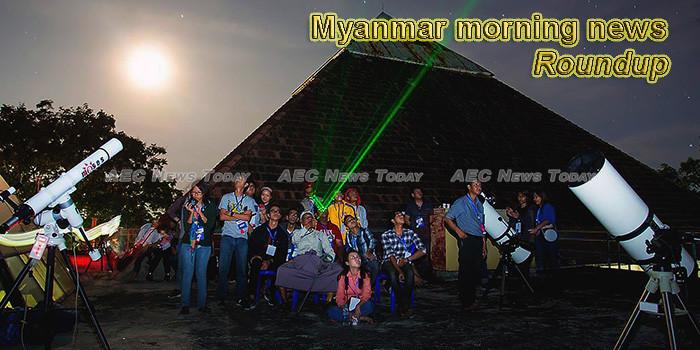 Myanmar morning news for November 5